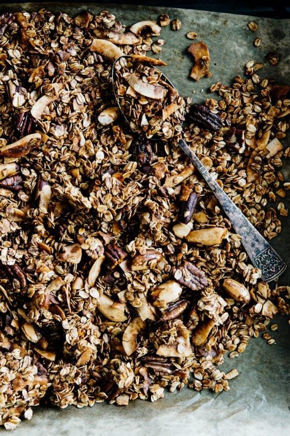 Niesamowicie chrupiąca granola kokosowa 58