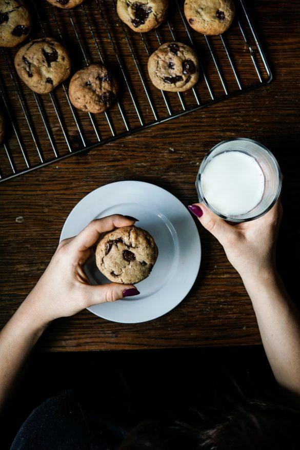 Amerykańskie chocolate chip cookies 24