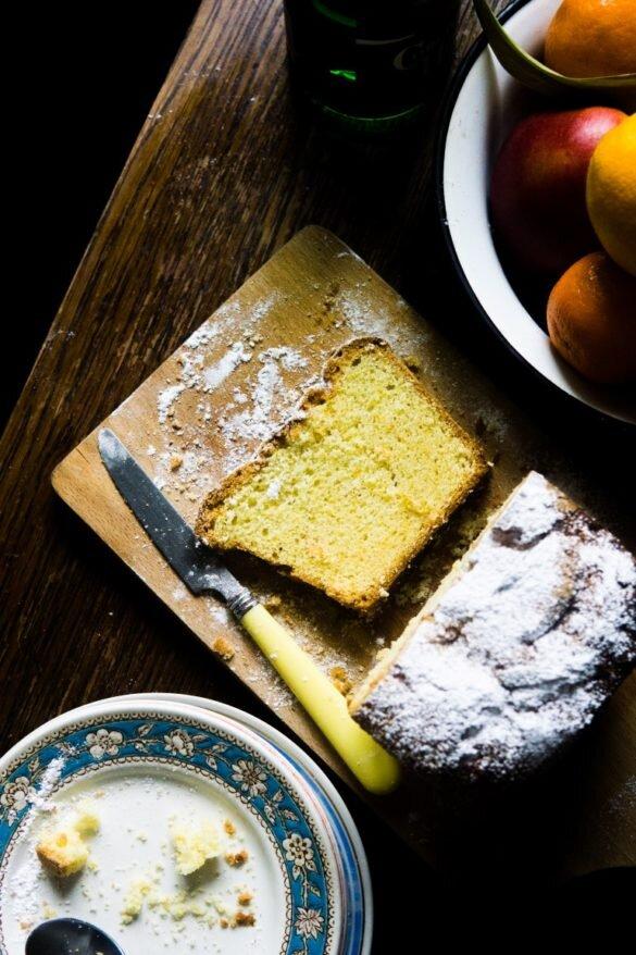 Cytrusowe ciasto maślane - quatre-quart 22