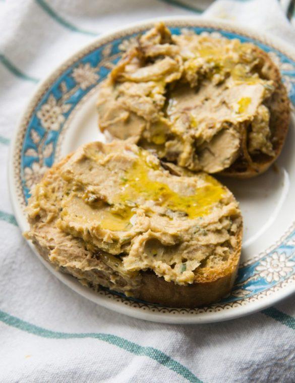 Pasta z fasoli i karmelizowanej cebuli 2