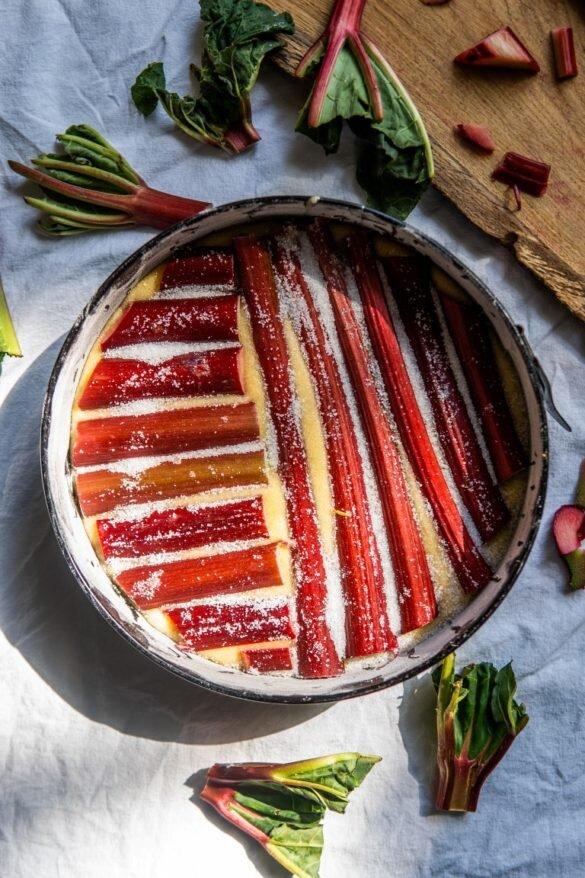 Po prostu ciasto z rabarbarem 12