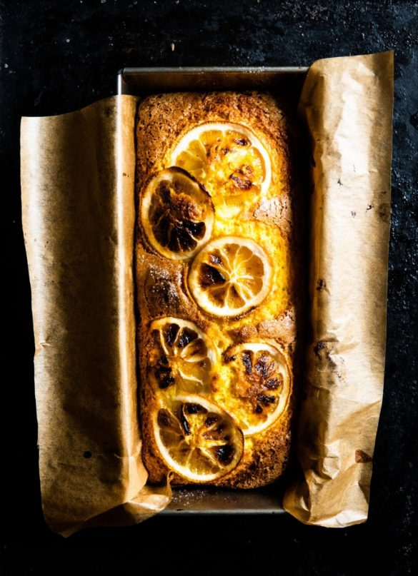 Turmeric Cake with Caramelized Lemons 14