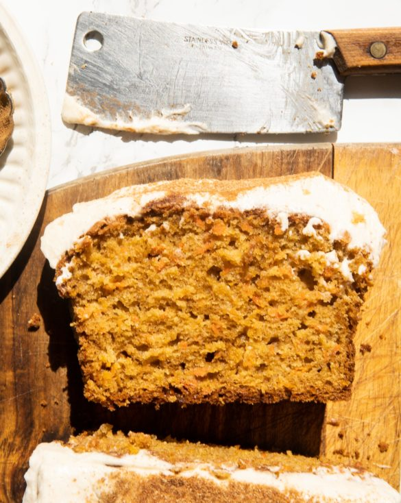 Carrot Bread with Honey Frosting 8