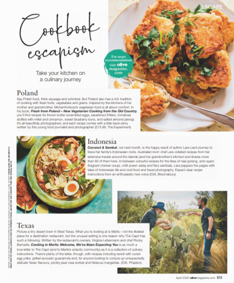 Cookbook Escapism: My cookbook Fresh from Poland featured in Olive Magazine! 14