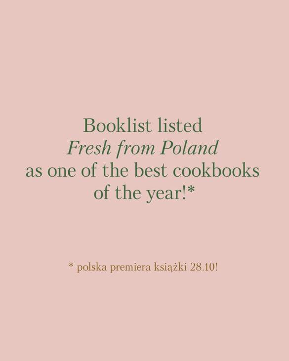 Napisałem jedną z nalepszych książek kulinarnych 2020 według Booklist!!! 16