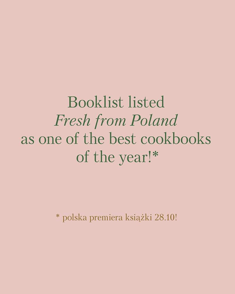 Napisałem jedną z nalepszych książek kulinarnych 2020 według Booklist!!! 1