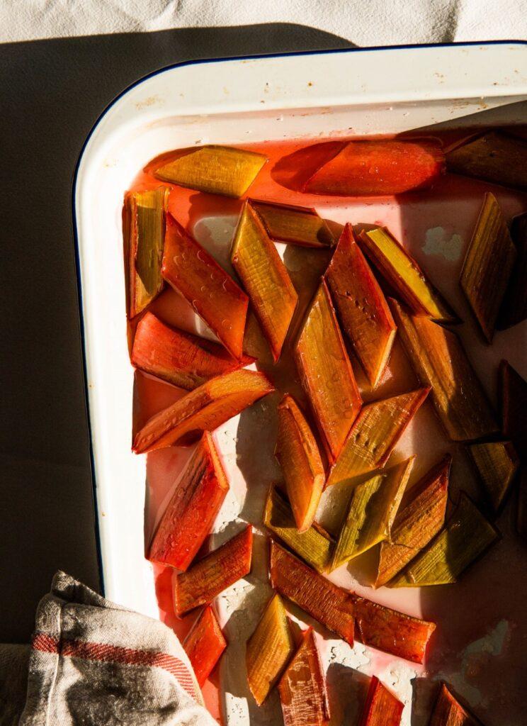 Pieczony rabarbar na 8 sposobów, do wszystkiego 1